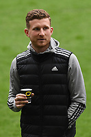 Dillon Phillips of Cardiff City arrives for the Sky Bet Championship match between Swansea City and Cardiff City at the Liberty Stadium in Swansea, Wales, UK. Saturday 20 March 2021