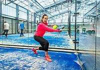Netherlands, December 10,  2020, Etten-Leur, Zuit, Padel Photoshoot<br /> Photo: Henk Koster/tennisimages.com