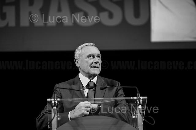 Pietro Grasso, Politician & former Anti-mafia Magistrate.