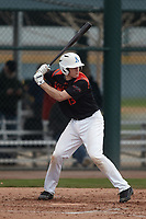 Eric Grintz (13) of DOWNINGTOWN  WEST High School in Glenmoore, Pennsylvania during the Under Armour All-American Pre-Season Tournament presented by Baseball Factory on January 15, 2017 at Sloan Park in Mesa, Arizona.  (Kevin C. Cox/MJP/Four Seam Images)