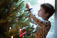 Christmas Tree Trimming 2014