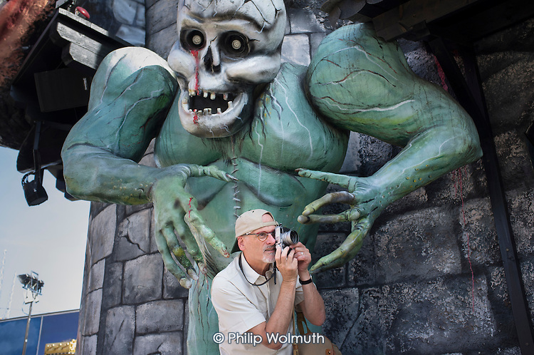 Phil Cantor, Prater amusement park, Vienna, Austria, 2014.