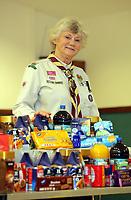Pat Parkhurst, scout leader