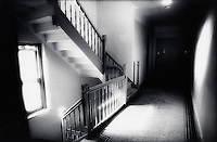 Apartment house hallway<br />
