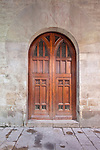 Europe, Spain, Catalonia, Barcelona, Gothic Quarter, Traditional Door