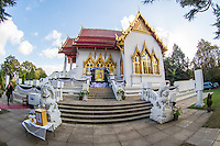 King Bhumibol of Thailand - Wimbledon Temple - 20.10.2016