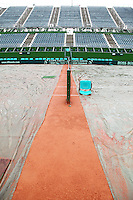 4-3-09,Argentina, Buenos Aires, Daviscup  Argentina-Netherlands, Rain