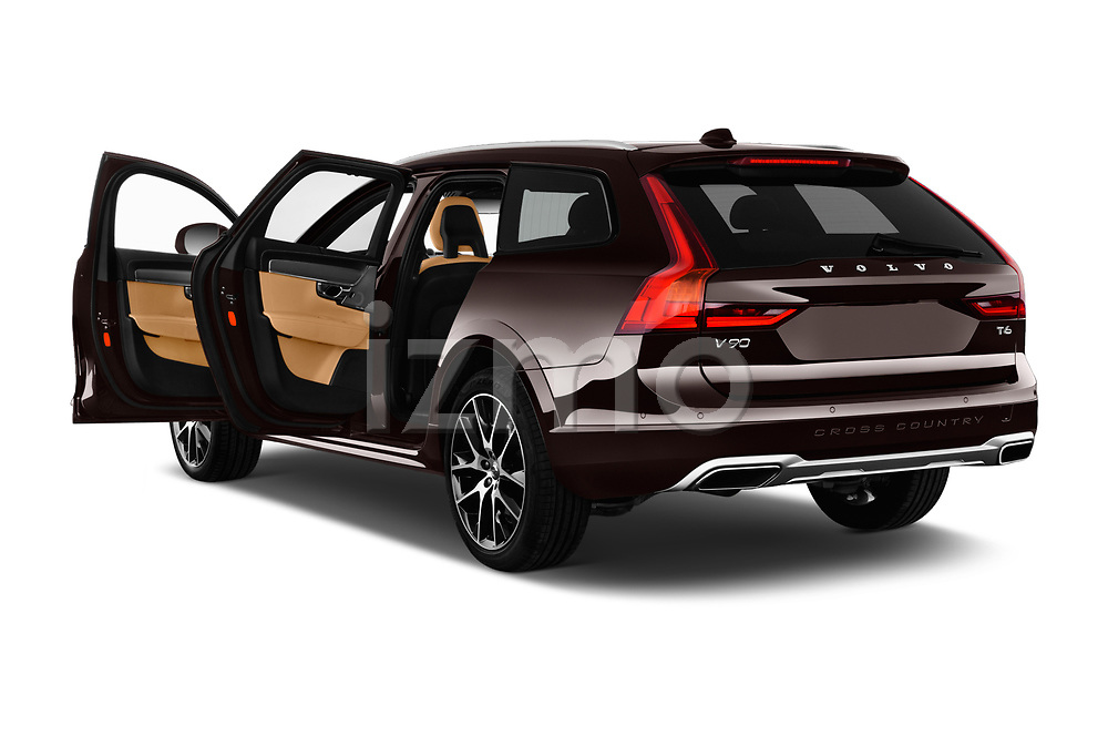 Car images close up view of a 2018 Volvo V90 Corss Country Pro 5 Door Wagon doors