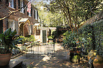 Charleston, SC. home and courtyard