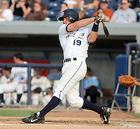 January 20, 2010:  Bryan Pounds of the West Michigan Whitecaps during a game at Fifth Third Ballpark in Comstock Park, FL.  The White Caps are the Low-A affiliate of the Detroit Tigers.  Photo By Emily Jones/Four Seam Images