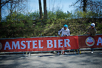 columbian fans up the Cauberg<br /> <br /> 50th Amstel Gold Race 2015