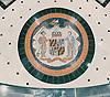 Custom mosaic design for Maryland State Seal medallion