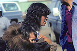 Inupiat Woman & Child