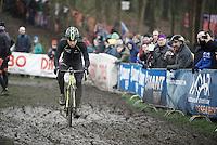Sven Nys (BEL/Crelan-AAdrinks) at recon<br /> <br /> Grand Prix Adrie van der Poel, Hoogerheide 2016<br /> UCI CX World Cup