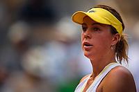 8th June 2021; Roland Garros, Paris France; French Open tennis championships day 10;  Attitude de Anastasia Pavlyuchenkova ( Rus )
