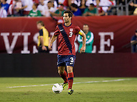 Carlos Bocanegra. The USMNT tied Mexico, 1-1, during their game at Lincoln Financial Field in Philadelphia, PA.