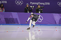 OLYMPIC GAMES: PYEONGCHANG: 16-02-2018, Gangneung Oval, Long Track, 5.000m Ladies, Carlijn Schoutens (USA), ©photo Martin de Jong