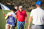 John Daly during the World Celebrity Pro-Am 2016 Mission Hills China Golf Tournament on 22 October 2016, in Haikou, China. Photo by Marcio Machado / Power Sport Images