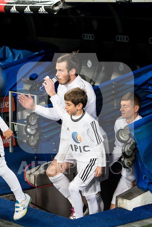 Real Madrid's  Gareth Bale during La Liga match. March 20,2016. (ALTERPHOTOS/Borja B.Hojas)