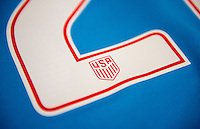 Orlando, FL - March 29, 2016: USWNT Uniforms and USSF Crest