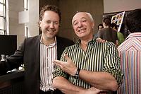 Patrick Roy, Alliance -Atlantis-Vivafilm (L)<br /> Didier Farre (R)<br /> <br /> <br /> <br /> <br /> <br /> photo : Pierre Roussel (c)  Images Distribution