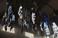 Europe/France/Nord-Pas-de-Calais/59/Nord/Lewarde: Centre historique minier installé sur le site de l'ancienne fosse Delloye - la salle des pendus