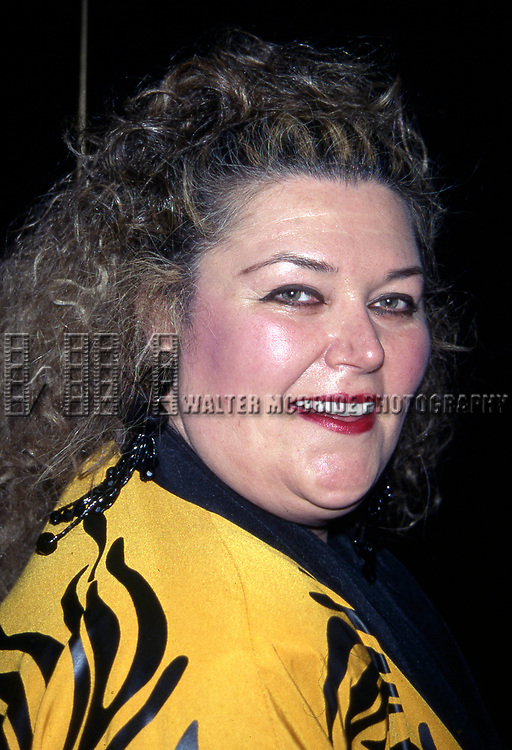 Baby Jane Dexter attends a performance at Rainbow & Stars on on February 6, 1996 in New York City.