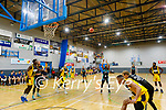 Garveys Tralee Warriors Aaron Calixte take a shot against  360 Financial Killorglin in the basketball super league