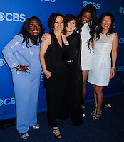 NEW YORK CITY, NY, USA - MAY 14: Sheryl Underwood, Sara Gilbert, Sharon Osbourne, Aisha Tyler, Julie Chen at the 2014 CBS Upfront held at Carnegie Hall on May 14, 2014 in New York City, New York, United States. (Photo by Celebrity Monitor)