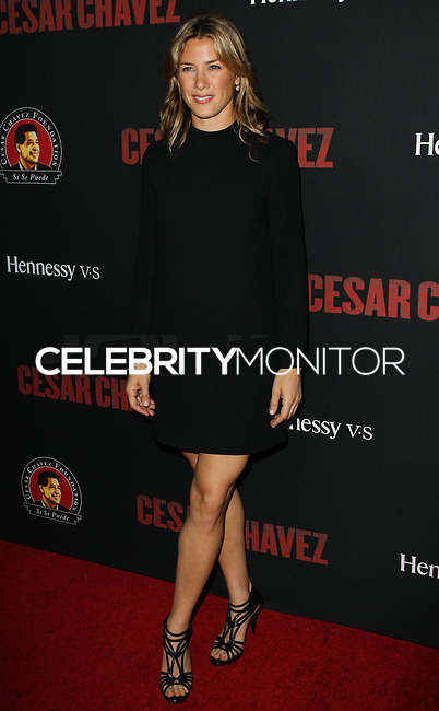 """HOLLYWOOD, LOS ANGELES, CA, USA - MARCH 20: Jessica Lindsey at the Los Angeles Premiere Of Pantelion Films And Participant Media's """"Cesar Chavez"""" held at TCL Chinese Theatre on March 20, 2014 in Hollywood, Los Angeles, California, United States. (Photo by Celebrity Monitor)"""