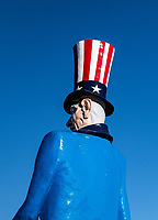 Uncle Sam figure.