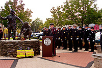 Fallen Firefighters Memorial Service Palatine Illinois October 1,2017