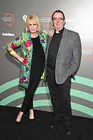 Joanna Lumley and Rev Richard Coles<br /> at the Radio Times Hall of Fame photocall as part of the BFI & Radio Times Television Festival 2019 at BFI Southbank, London<br /> <br /> ©Ash Knotek  D3494  12/04/2019