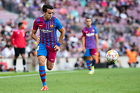 26th September 2021; Nou Camp, Barcelona, Spain: La Liga football, FC Barcelona versus Levante: Eric Garcia Barcelona breaks along the wing