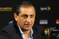 Philadelphia, PA - June 11, 2016: Paraguay manager Ramon Diaz during a Copa America Centenario Group A match between United States (USA) and Paraguay (PAR) at Lincoln Financial Field.