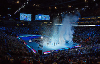 ROGER FEDERER and NOVAK DJOKOVIC - ATP World Tour - FINAL - 22.11.2015