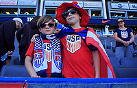 CARSON, CA - FEBRUARY 1: FansFans during a game between Costa Rica and USMNT at Dignity Health Sports Park on February 1, 2020 in Carson, California.