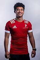 Brian Leali'ifano (Sacred Heart). 2019 New Zealand Schools Barbarians rugby union headshots at the Sport & Rugby Institute in Palmerston North, New Zealand on Wednesday, 25 September 2019. Photo: Dave Lintott / lintottphoto.co.nz