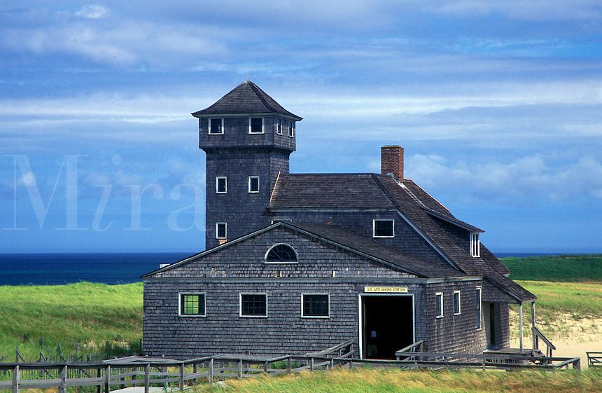 Race Point rescue museum, Provincetown, Cape Cod