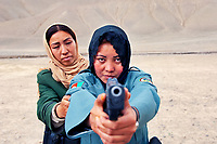 Police Officers, Bamiyan, Afghanistan, 2007<br />