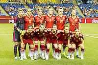 Spain vs Costa Rica, June 9, 2015