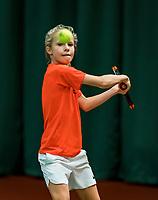 Wateringen, The Netherlands, November 27 2019, De Rhijenhof , NOJK 12/16 years,  Tess Antonis (NED)<br /> Photo: www.tennisimages.com/Henk Koster