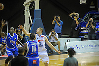 Photographers shoot the action during the national basketball league match between Wellington Saints and Nelson Giants at TSB Bank Arena, Wellington, New Zealand on Monday, 28 March 2016. Photo: Dave Lintott / lintottphoto.co.nz