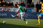 09.02.2020 BSC Glasgow v Hibs: Marc McNulty scores the opener for Hibs