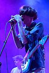 The band Deerhunter performs at Bumbershoot 2013 in Seattle, WA USA