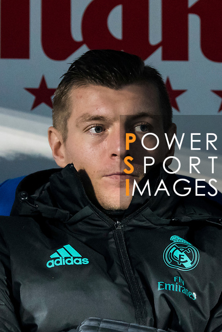 Toni Kroos of Real Madrid looks on prior to the Copa del Rey 2017-18 match between CD Leganes and Real Madrid at Estadio Municipal Butarque on 18 January 2018 in Leganes, Spain. Photo by Diego Gonzalez / Power Sport Images
