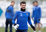 St Johnstone Training...   21.01.21<br />Craig Bryson pictured during training at McDiarmid Park ahead of Saturday's BetFred Cup semi-final against Hibs at Hampden.<br />Picture by Graeme Hart.<br />Copyright Perthshire Picture Agency<br />Tel: 01738 623350  Mobile: 07990 594431