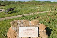 - Lido di Ostia, memorial park on the site where was killed the poet and writer Pierpaolo Pasolini ....- Lido di Ostia, parco memoriale sul luogo in cui fu ucciso il poeta e scrittore Pierpaolo Pasolini