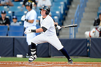 Tampa Yankees outfielder Ben Gamel #6 during a game against the Lakeland Flying Tigers at Steinbrenner Field on April 6, 2013 in Tampa, Florida.  Lakeland defeated Tampa 8-3.  (Mike Janes/Four Seam Images)