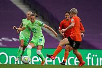 21st August 2020, San Sebastian, Spain;  Ewa Pajor Wolfsburg in action during the UEFA Womens Champions League football match Quarter Final between Glasgow City and VfL Wolfsburg.Wolfsburg